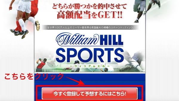 ウィリアムヒルスポーツへの登録